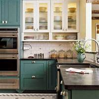 colored kitchen cabinets Abby Manchesky Interiors: slate appliances + plans for our kitchen