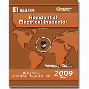 E1 Icc Residential Electrical Inspector Exam Practice