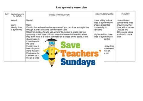 lines of symmetry in shapes ks2 worksheets lesson plans
