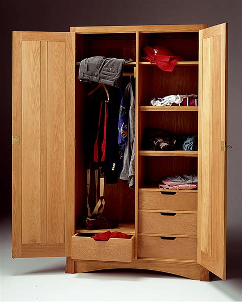 Bedroom Wardrobe Fronts by Arts And Crafts Armoire Mission Armoire Wardrobe