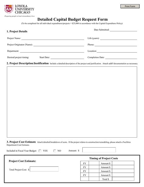 budget request form templates at allbusinesstemplates com