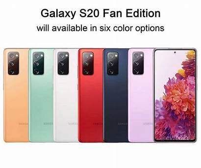 Samsung S20fe Colors Galaxy S20 Six