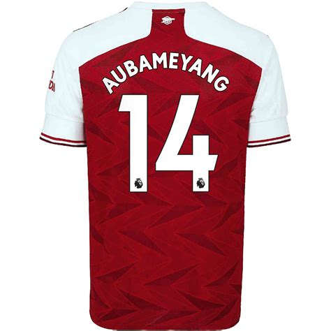 2020/21 Kids adidas Pierre-Emerick Aubameyang Arsenal Home ...
