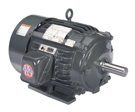 Electric Motors by Us Motors Nidec H3e4h 3hp General Purpose Motor Motor