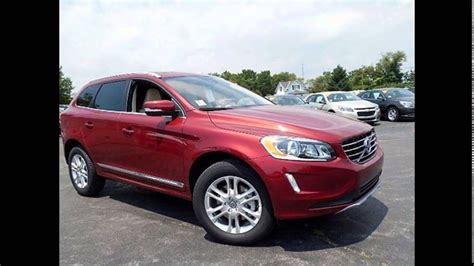 volvo xc flamenco red metallic youtube