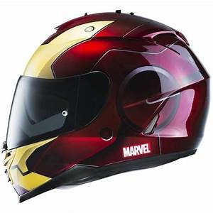 Casque Moto Futuriste : hjc is 17 iron man casque int gral rouge et gold licence marvel cdiscount bons plans pas cher ~ Melissatoandfro.com Idées de Décoration