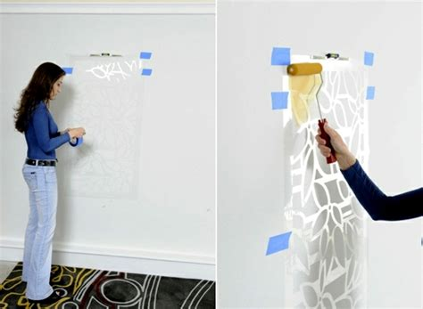 paint the walls 21 creative wall templates including instructions interior design ideas