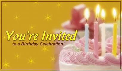 Birthday Invited Celebration Re Party Cards Invitations