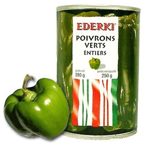 cuisiner des poivrons verts poivrons verts en boîte ederki