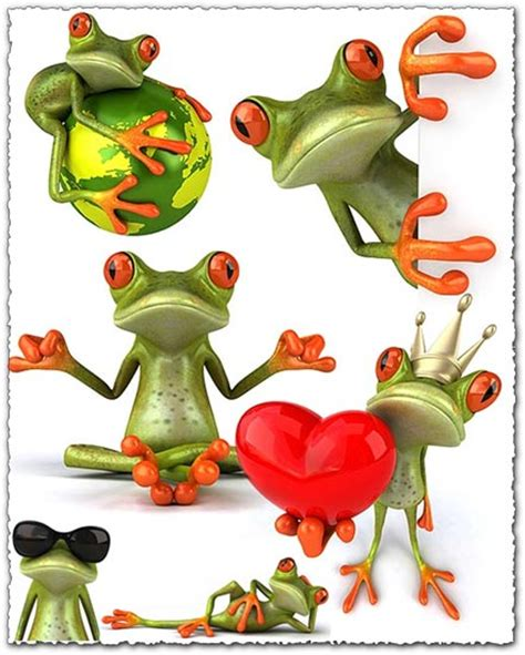 cartoon frogs images