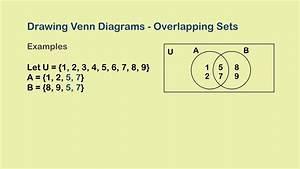 Venn Diagrams Ii - Two Overlapping Sets