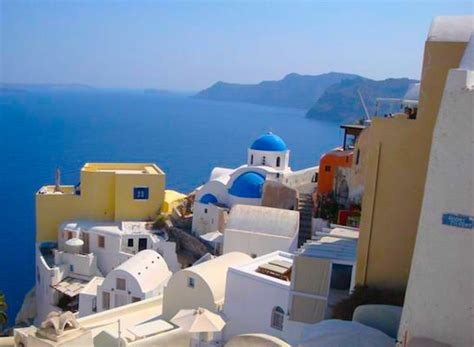 Greece Travel Suggested Itinerary Popular Greek Islands