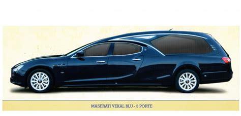 cinque porte maserati autofunebre maserati vekal blu 5 porte funus it