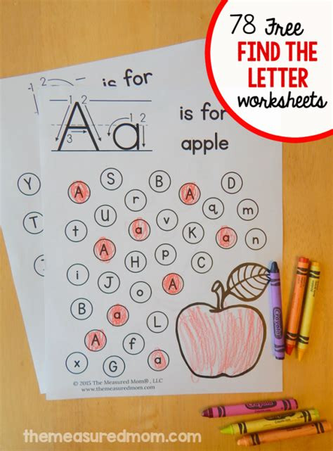 free find the letter alphabet worksheets the measured 488 | find the letter pages 590x799