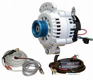 Balmar 621-vup-120-j10 Alternator And Regulator Kit