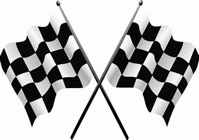 Flags Racing Flag Checkered Clipart Clip Motor