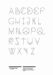 this is a typeface developed out of a personal interest in With font letter app