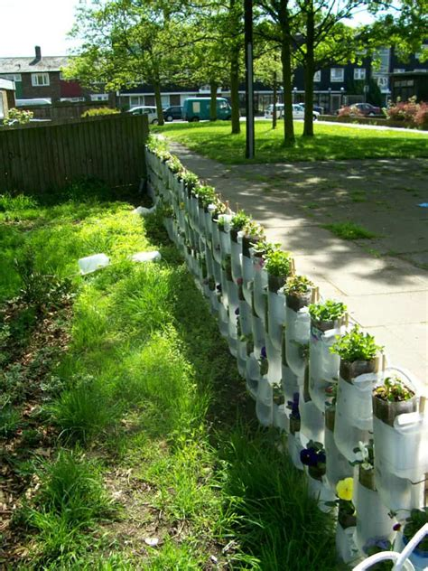 diy gardening creative decorations with recycled items to turn your backyard into art