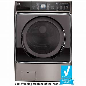 Kenmore Elite 41073 5 2 Cu  Ft  Front-load Washer With Steam Treat U00ae