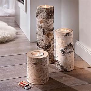 Ideen Für Kerzenständer : die besten 25 birkenholz ideen auf pinterest birkenholz deko baum kleiderablage und holzdeko ~ Orissabook.com Haus und Dekorationen
