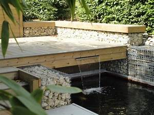 Lame D Eau Bassin : bassin avec terrasse en bois rebeyrol ~ Premium-room.com Idées de Décoration