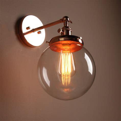 Modern Vintage Bathroom Lighting by Buyee 174 Modern Vintage Industrial Edison Wall Sconce Glass