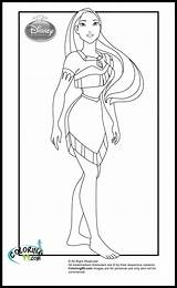 Pocahontas Disney Coloring Princess Princesses Pages Printables Colors Printable Rapunzel Sheets Duathlongijon Bookmark Ministerofbeans Visit Belle Template sketch template