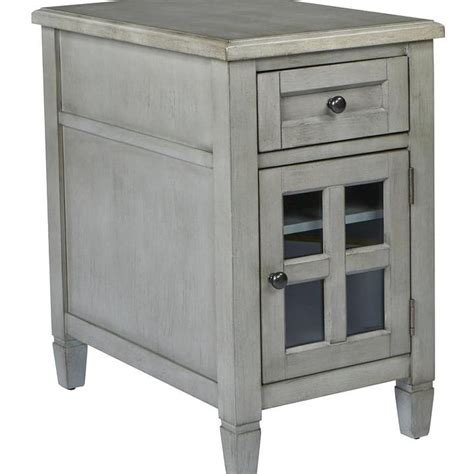 Zahara End Table with Storage in 2020 Osp home