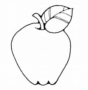 Apple Clip Art Black And White - ClipArt Best