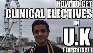 How to get clinical electives in uk experience medicos for How to get clinical experience
