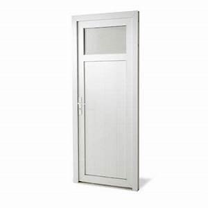 Porte De Service Aluminium : porte de service pvc 1 4 vitr e servicio castorama ~ Dailycaller-alerts.com Idées de Décoration