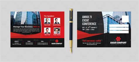 event postcard designs  psd ai eps vector