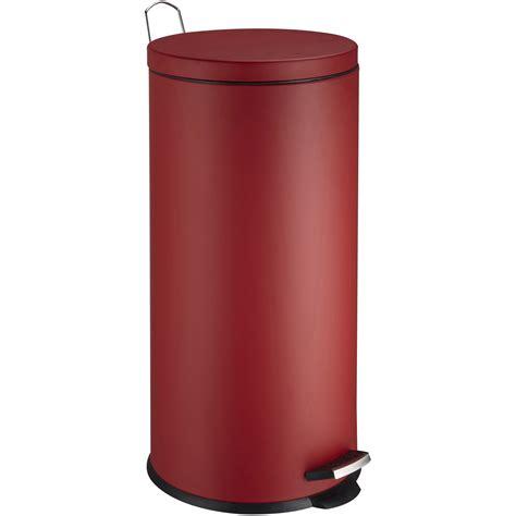 poubelle cuisine pedale poubelle de cuisine à pédale frandis métal 30 l