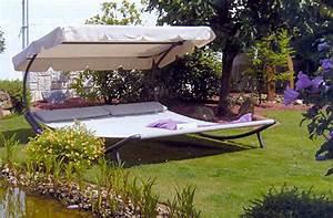 Doppelliege Mit Dach : leco design luxus doppelliege dach garten liege sonnenliege sonneninsel ebay ~ Frokenaadalensverden.com Haus und Dekorationen