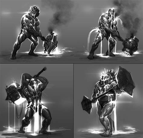 God Of War Ascension Concept Art By Anthony Jones