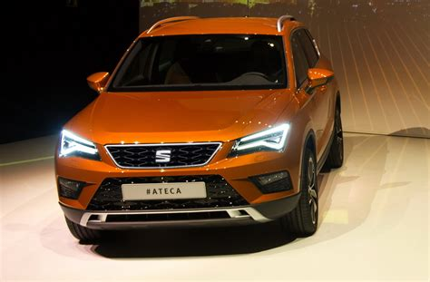 seat ateca the seat ateca suv debuts with led lights and up to 190 hp