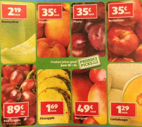 aldi produce deals