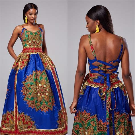 Mixture Tradition Exoticism by These Ankara Maxi Dresses Will Drop Your Jaw Zumi
