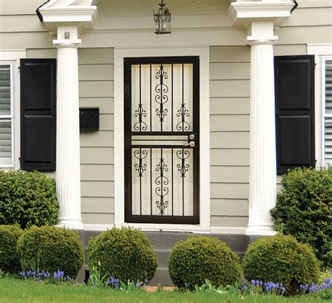 beautiful front doors larson doors security doors