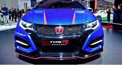Civic Honda Type Paris Concept Debut Makes