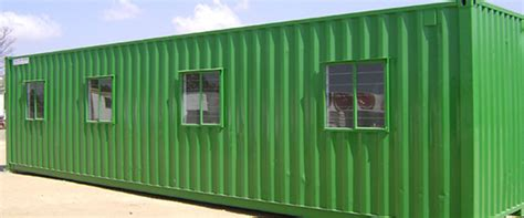mobile  park homes site offices temporary