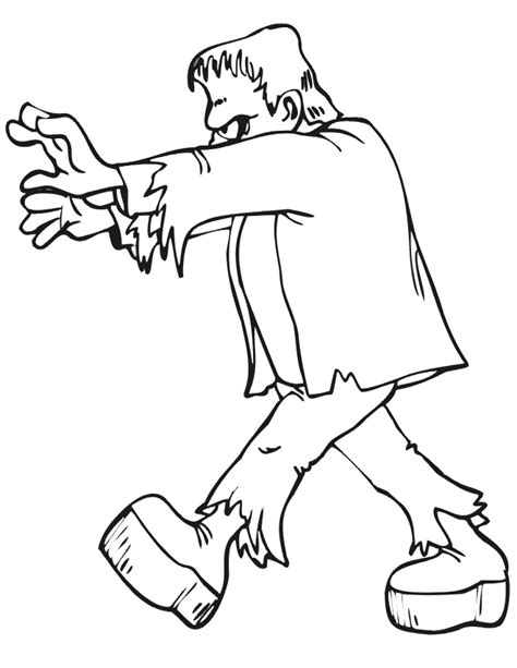 frankenstein coloring pages coloring pages frankenstein coloring pages