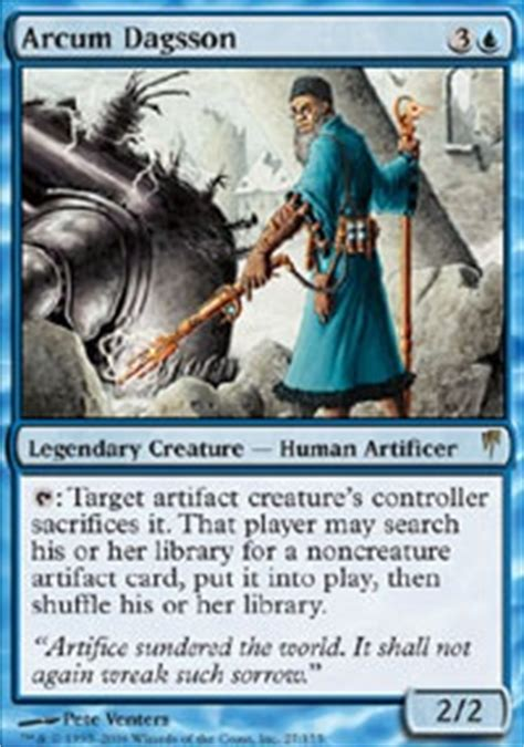 Edh Colorless Non Artifact Deck by Mono Blue Artifact Commander Edh Mtg Deck