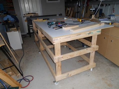 make a table saw table how to build diy table saw table pdf plans