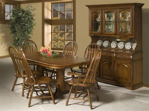 country style dining room  cappuccino finish china