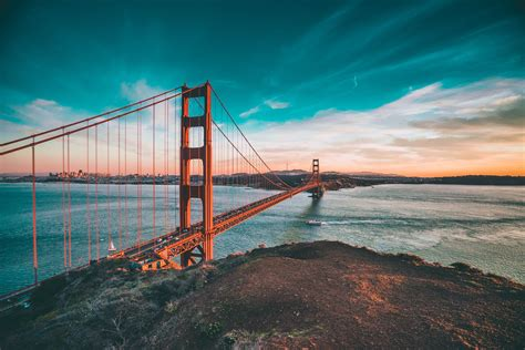 san francisco headlands  golden gate bridge fancycrave
