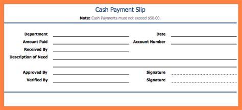 employee payment slip format salary slip