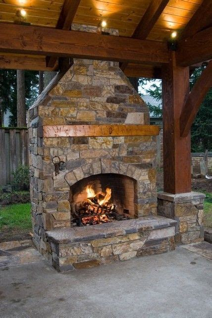 2 Sided Outdoor Fireplace - 78 best images about outdoor pavilions on