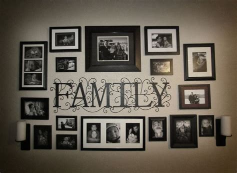 25+ Best Ideas About Family Picture Walls On Pinterest