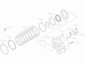 2019 Subaru Forester Housing Assembly Reverse Brake